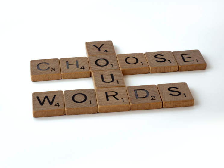 words for your content